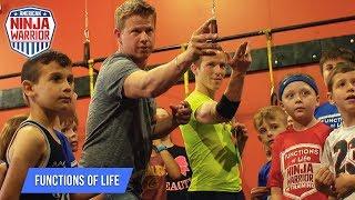Ninja Warrior Trick Shots with Logan Broadbent | Rick Smith Jr.