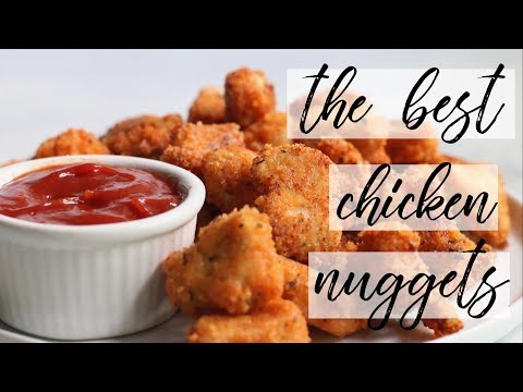 RECIPE// The BEST Chicken Nuggets Ever!!! Low Carb + Gluten Free + Weeknight Meal + Family Dinner