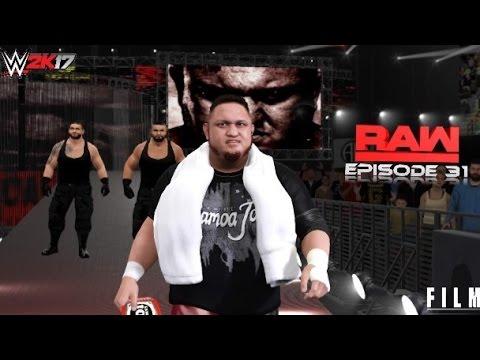 WWE 2K17 Monday Night Raw Episode 31