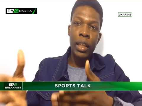 TVC Breakfast 11th April 2018 | Sports Talk with Olamide Osilade