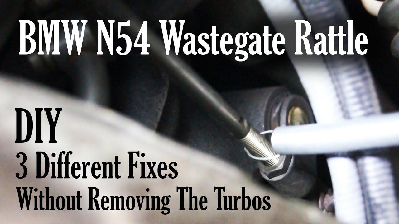 N54 Wastegate Adjustment