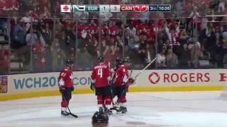 Canada vs Europe   World Cup of Hockey 2016 Final G1 NHL's Crosby vs Kopitar Highlights