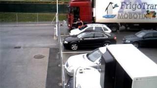 stupid truck driver