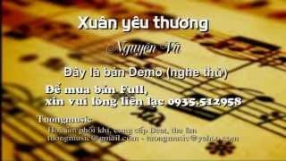 Beat Mùa xuân yêu thương - Nguyên Vũ