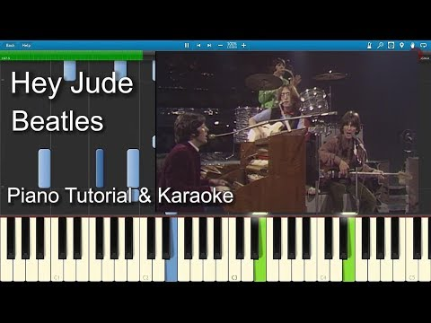 Hey Jude - Beatles | Piano Tutorial | Guitar Chords |  Sheet