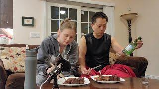 [한미커플] 미국인 와이프가 만든 소꼬리 갈비찜 먹방 …