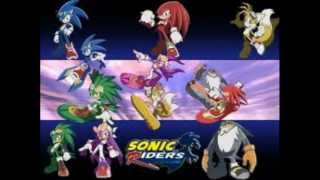 First OST sonic riders digital dimension reverse