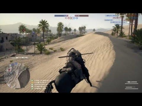 Battlefield 1 - cavalry lance gameplay on suez 62-1
