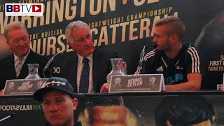 JOSH WARRINGTON - DENNIS CEYLAN - PRESS CONFERENCE LEEDS