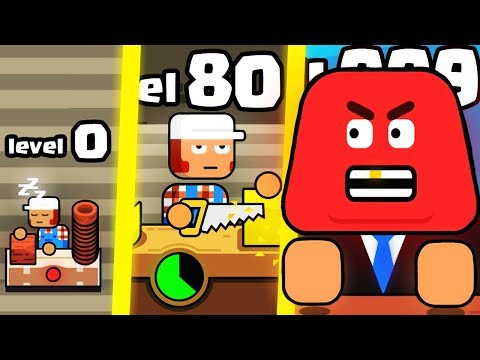 IS THIS THE HIGHEST LEVEL STRONGEST WORKER EMPLOYEE EVOLUTION? (9999+ FACTORY LEVEL) l Make More! |