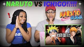 Naruto VS Ichigo | DEATH BATTLE By ScrewAttack! REACTION!!!!