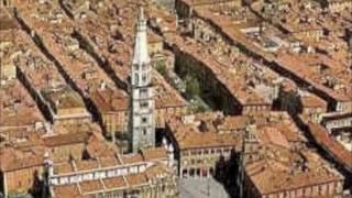 Modena . Italien. UNESCO-Weltkulturerbe