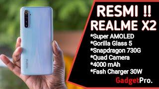 RESMI!! Rp 3,2Juta Realme X2 MELUNCUR DENGAN SPEK GARANG | Spesifikasi Dan Harga Indonesia.