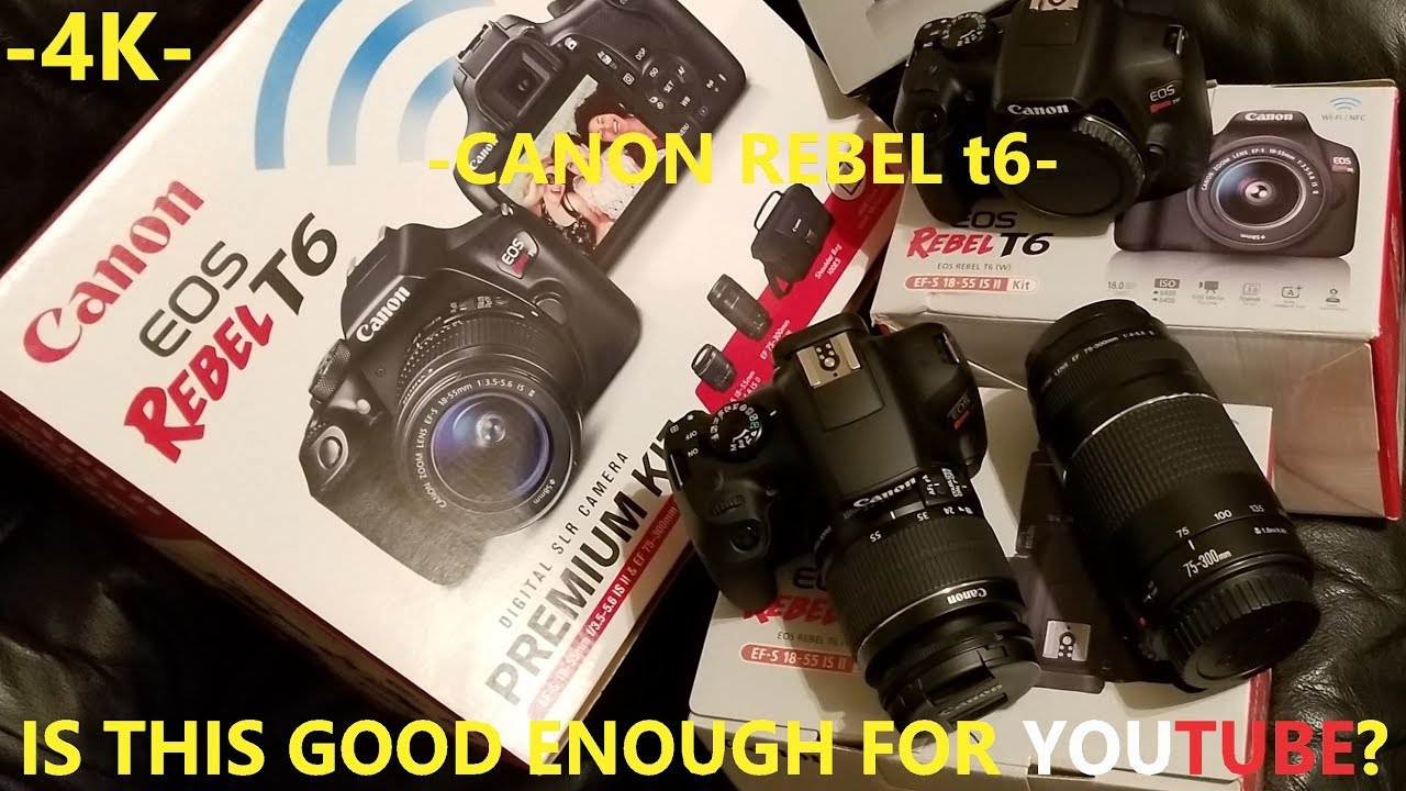 Couple Months With The Canon Rebel T6 Review Youtube