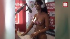 Micaela Schäfer nackt im Radio - Schlechte Witze