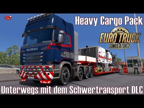 ETS2 I Heavy Cargo Pack ★ Unterwegs mit dem Schwertransport DLC ★ #331 LIVE-Tour [Deutsch/HD]