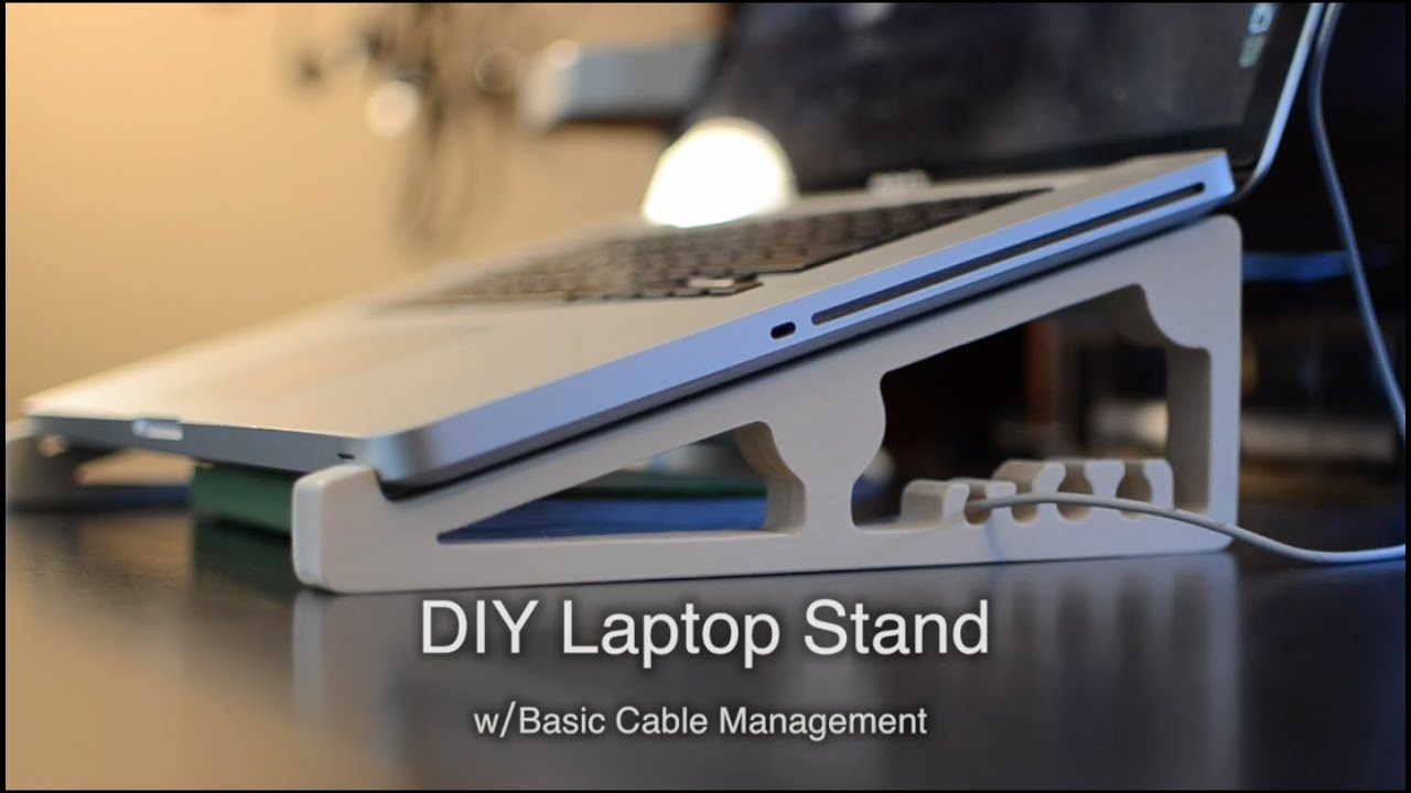 Diy Cnc Ed Laptop Stand For 5 Shapeoko Project 57