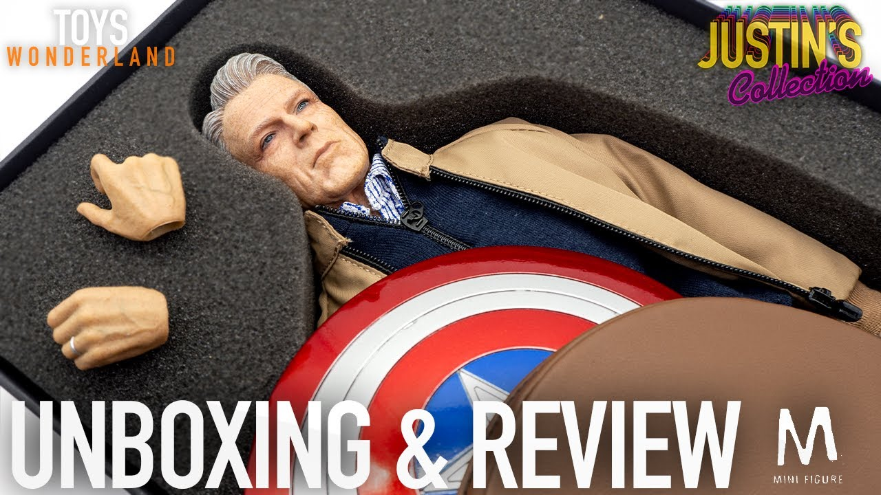 Avengers Endgame Old Captain America 1/6 Scale Figure Unboxing & Review