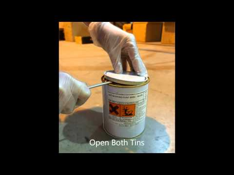 How To Apply dmd Epoxy Line Marking Paint