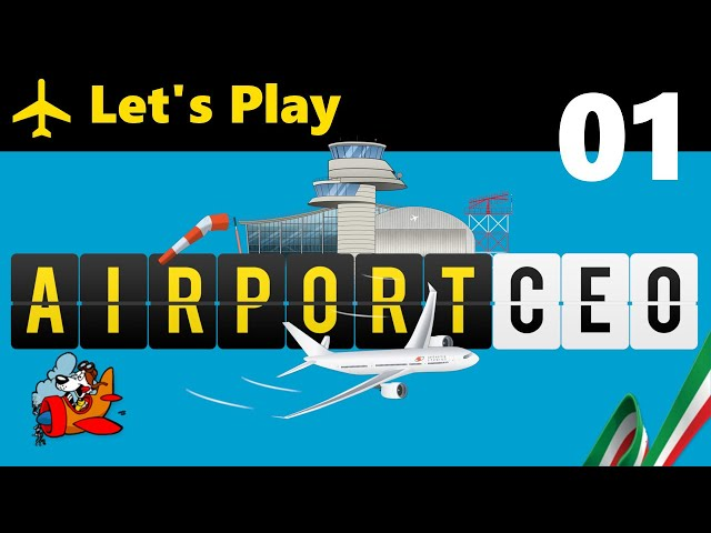 Airport CEO [Let's Play ITA] 01