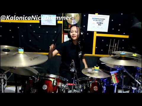 Adele - Set Fire To The Rain (Fast & Rock Version) Drums by Kalonica Nicx 12 yo