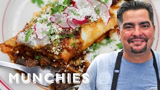 How To Make Chile Colorado Burritos with Aaron Sanchez