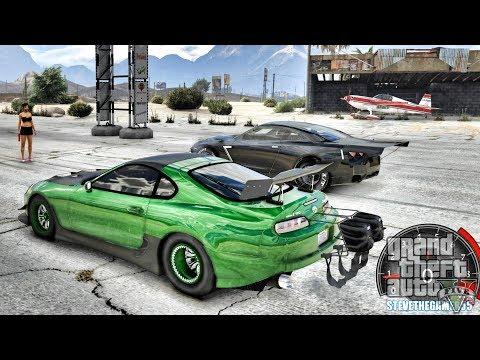 GTA 5 REAL LIFE MOD #673 - THE 4 SECOND SUPRA (GTA 5 REAL LIFE MODS)