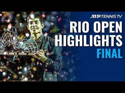 Cristian Garin Wins First ATP 500 Title! | Rio 2020 Final Highlights