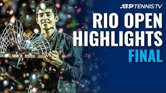 Cristian Garin Wins First ATP 500 Title! | Rio 2020 Final Highlights