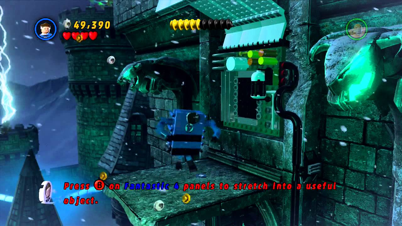 Lego Marvel Super Heroes Adventures Victor Von Dooms Castle Youtube