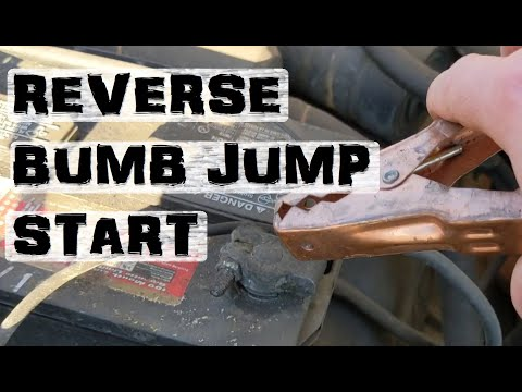 How to *actually* jump/bump start a vehicle.