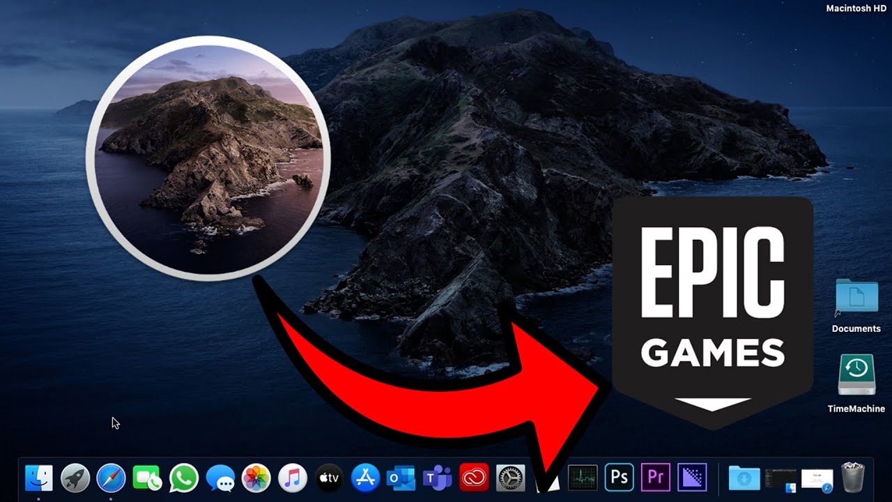 How To Install Epic Games Launcher - MacOS 2020 - YouTube