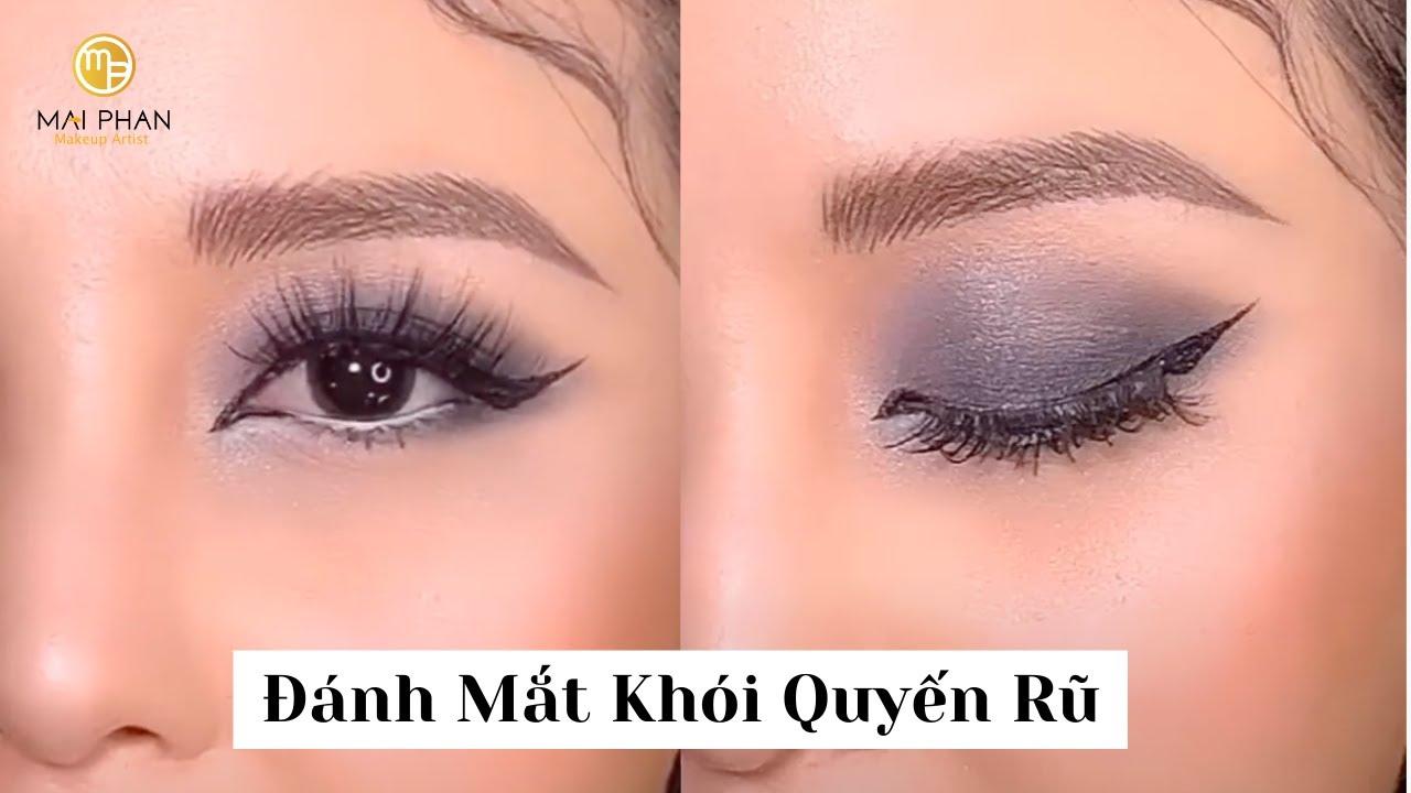 (chi tiết) Mắt Khói Quyến Rũ   Mai Phan Makeup