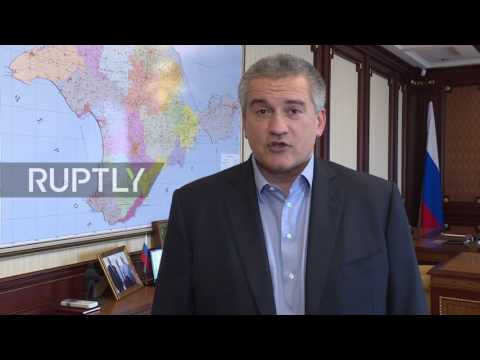 Russia: Crimean PM heralds 'American people's choice', slams 'numerous electoral violations'