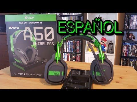 UNBOXING  ASTRO A50  Generacion 3 XBOX ONE en Español