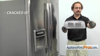Refrigerator Light Lens (part #3550JJ1070B) - How To Replace