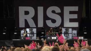 Repeat youtube video Rise Against - The Good Left Undone [live at Rock am Ring 2010]