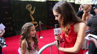 2016 soapcentral.com Daytime Emmys Red Carpet: Brooklyn Rae Silzer