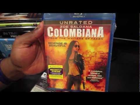 Colombiana Blu Ray: 1 Minute Unboxings On DrifterTVHD