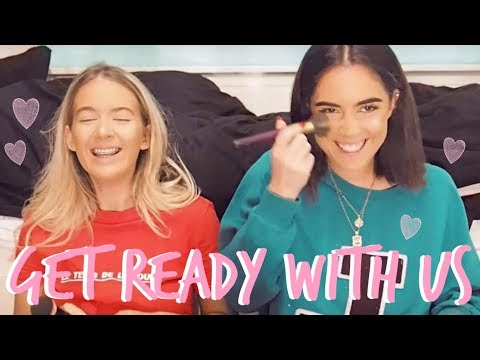 GET READY WITH US! | NIGHT OUT! | Sophia and Cinzia