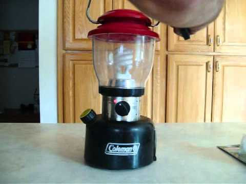 Review: Coleman Battery operated Lantern