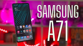 Обзор Samsung Galaxy A71. Неужели?