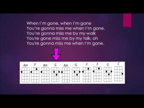 Cups (Anna Kendrick) Ukulele Play Along with Chord Guide