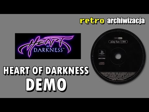 Heart of Darkness - gra od twórcy Another World - ogrywanie dema | Retro archiwizacja - odcinek 84