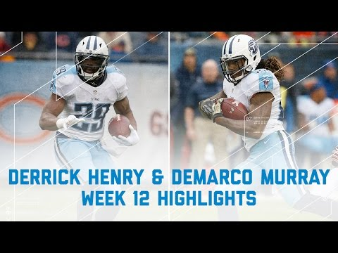 Derrick Henry & DeMarco Murray Combine for 103 Rushing Yards! | NFL Week 12 Player Highlights