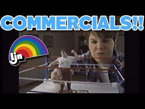 Vintage WWF LJN Action Figure Commercials!!