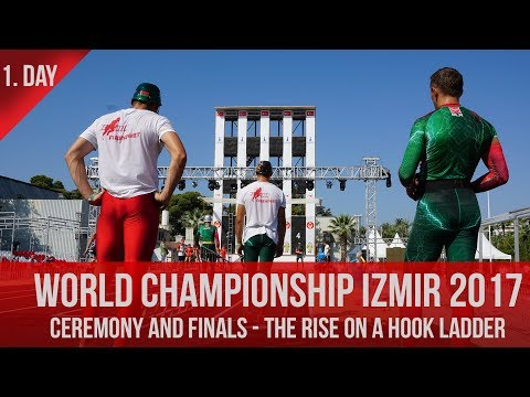 CEREMONY and FINALS - THE RISE ON A HOOK LADDER / CHAMPIONSHIP IZMIR 2017