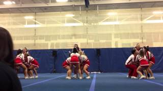 Boston University Cheerleading Small Coed 1 MASA All-Star States