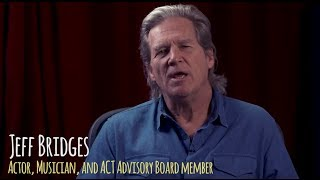 Why does Jeff Bridges Support the Amazon Conservation Team?