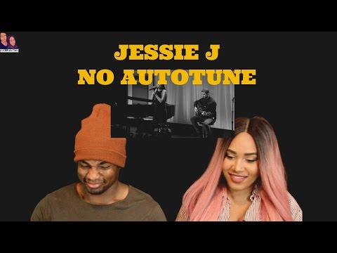 Cover Lagu Jessie J | REAL VOICE (WITHOUT AUTO-TUNE) REACTION STAFABAND